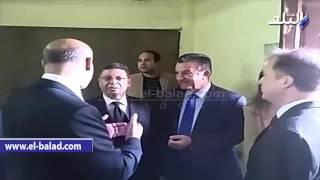 بالفيديو والصور .. سرور وشمس الدين يتفقدان مزارع الأرانب والدواجن بزراعة مشتهر