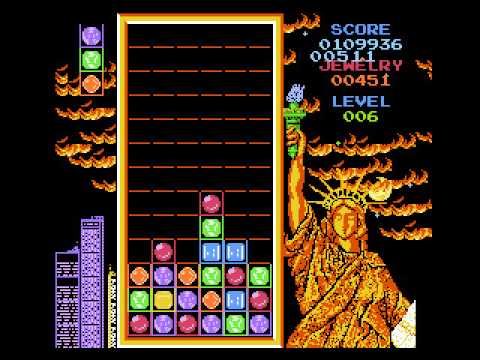 game play Magic Jewelry (NES) -até onde der (jogo traumatizante)