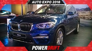 BMW X3 @ Auto Expo 2018 : PowerDrift