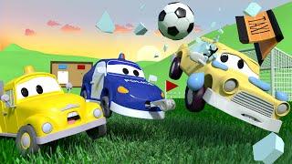 Bebés en Auto City - Juego de Futbol   Dibujos animados para niños