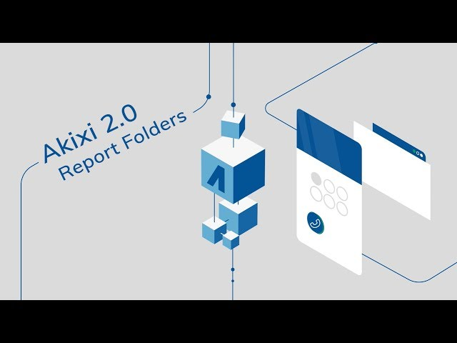 How To Create Folders in Akixi 2.0 Reports | Supervisor Tutorial