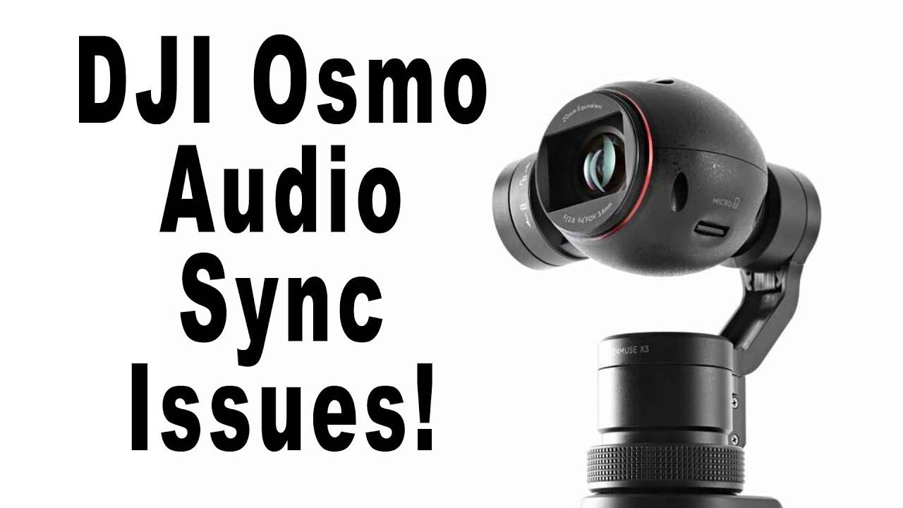 DJI OSMO Audio Sync Issues - Rode VideoMicro - YouTube