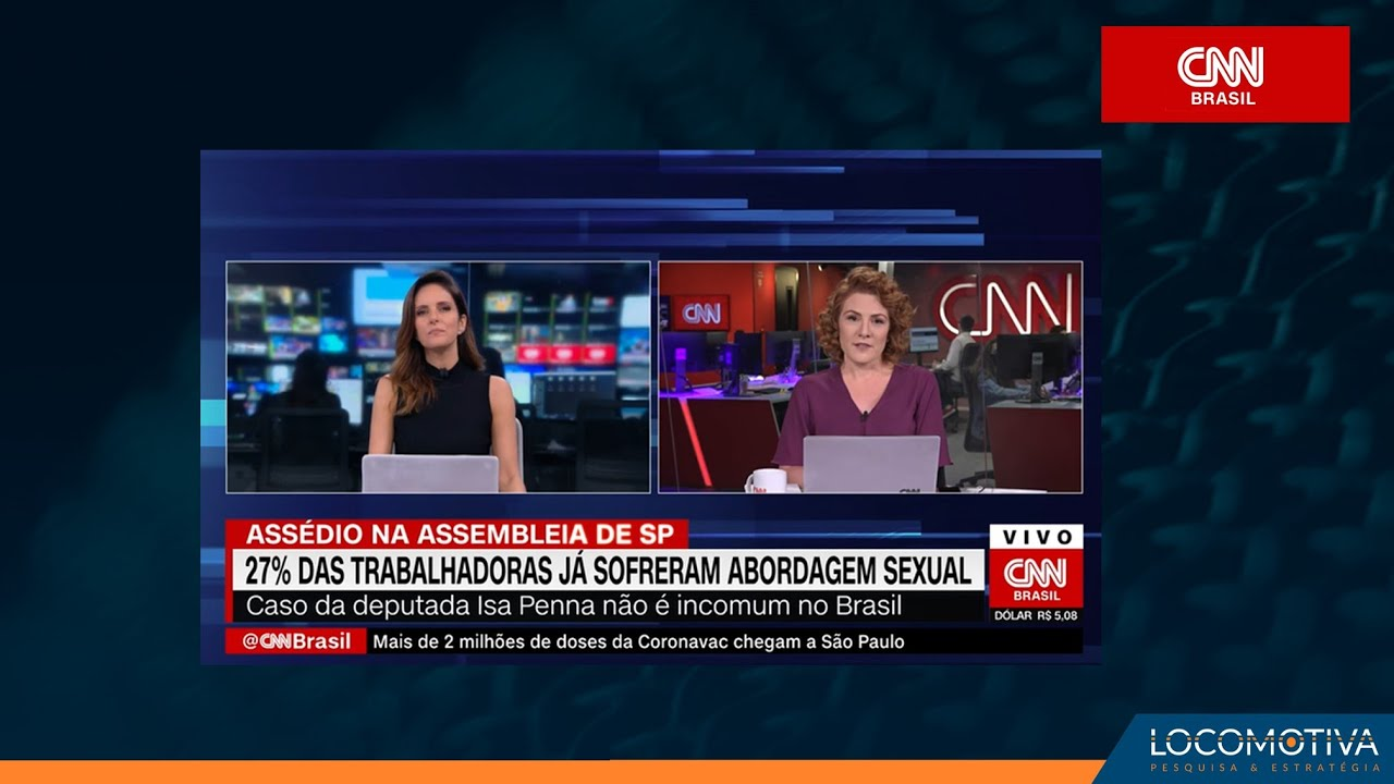 EXPRESSO CNN: 27% das trabalhadoras já sofreram abordagem sexual