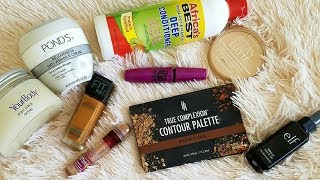 Everyday beauty products in makeup/skin/hair
