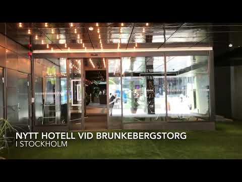 Downtown Camper - Scandics nya hotell vid Brunkebergstorg i Stockholm