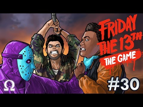 BROS FOR LIFE, POTATO DRIVER! | Friday the 13th The Game #30 Nintendo DLC Ft. Friends