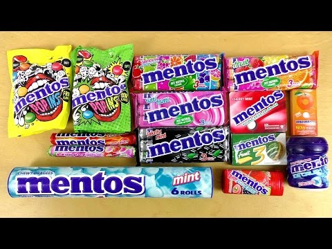 Ultimate Mentos Candy Episode