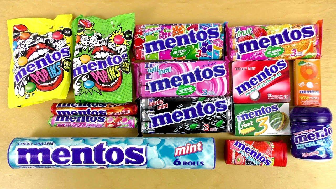Candy. Mentos Mint.