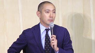 歌舞伎俳優の市川海老蔵さん(38)が9日、東京都内のホテルで会見し...