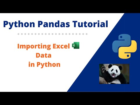 How to Import Excel data in Python Pandas | Getting Excel Data in Python Pandas
