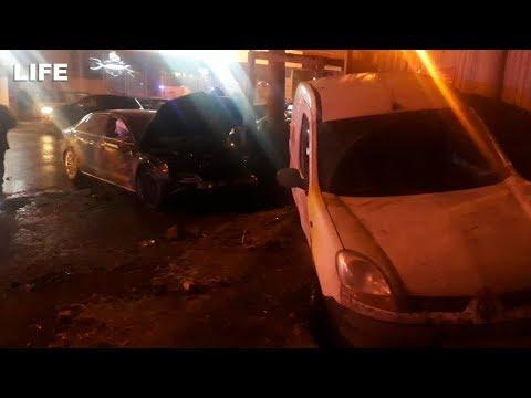 Машина сбила детей на тротуаре в Нижнем Новгороде