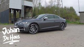 2017 Audi S5 Coupé Walkaround / Exterior shots / Interior shots