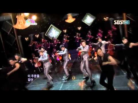 SS501 - Love Ya @ SBS Inkigayo 인기가요 100613
