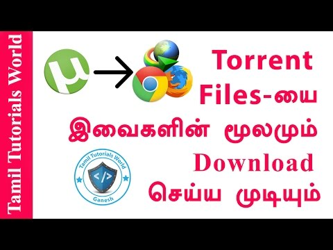 How to Download Torrent Files Without Torrent Clients Tamil Tutorials HD