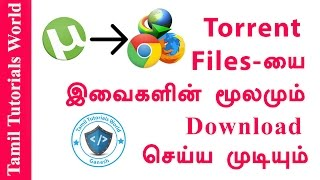 How to Download Torrent Files Without Torrent Clients Tamil Tutorials_HD