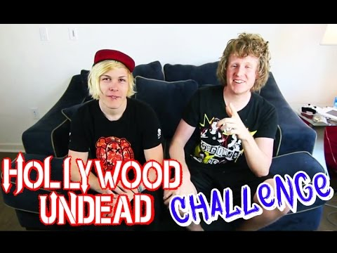 Hollywood Undead GUESS THAT SONG CHALLENGE