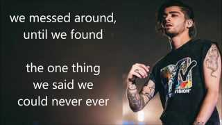 Zayn Malik - I Won't Mind  (Lyrics)