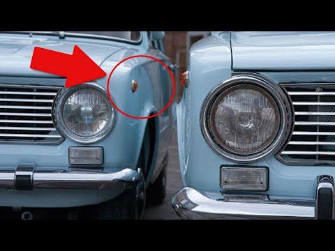 Чем Советские ВАЗ-2101 и Fiat-124 отличались друг от друга?