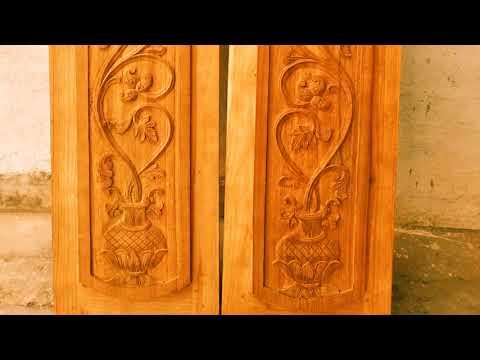 Wonderful Main Door Carving Designs