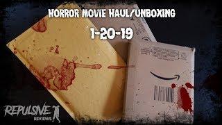 Horror Movie Haul/Unboxing 1-20-19