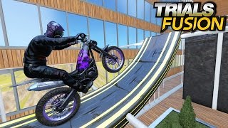 TRIALS FUSION - Custom Ninja Tracks [Ninja level 3 & 4]