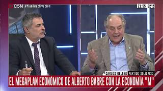 17-12-2019 - Carlos Heller en C5N – Minuto Uno, con Sylvestre –#Solidaridad #ReactivaciónProductivag