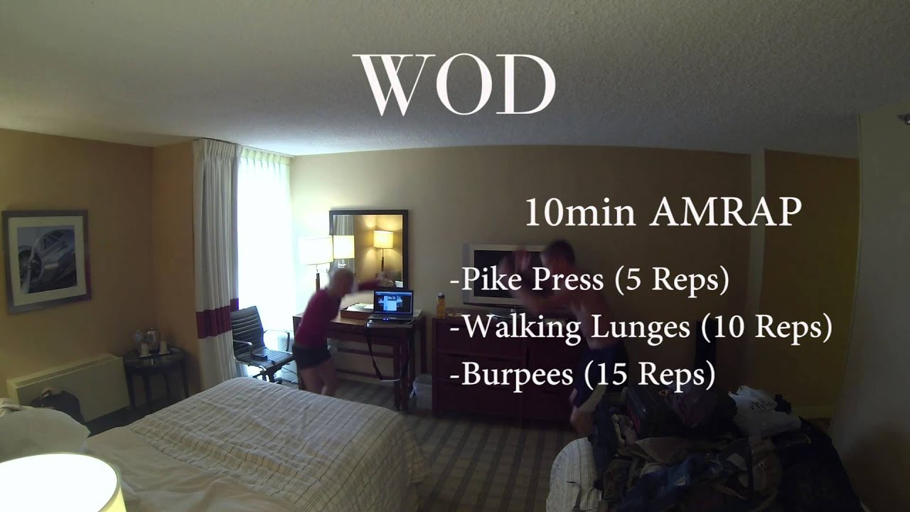 Hotel Crossfit Workout