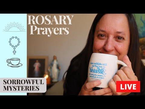 Pray LIVE Rosary Sorrowful Mysteries of the Holy Rosary Catholic Prayers