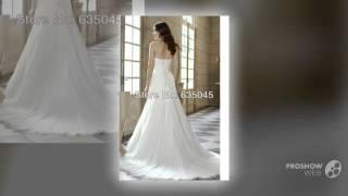 Свадебное платье коллекции 2015 года, цвета слоновая костьVestido Novia