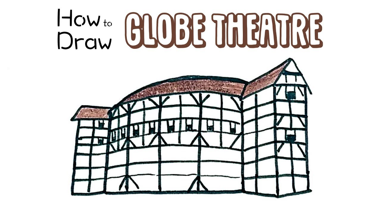 How To Draw The Globe Theatre