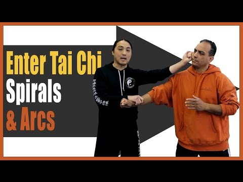 Learn Martial Arts Online - Learning To Use Spirals & Arcs