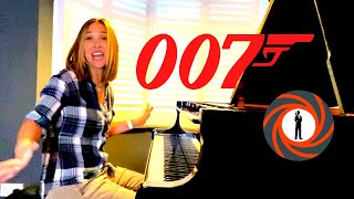 The one where I serenade your baby with James Bond Themes as chosen by you