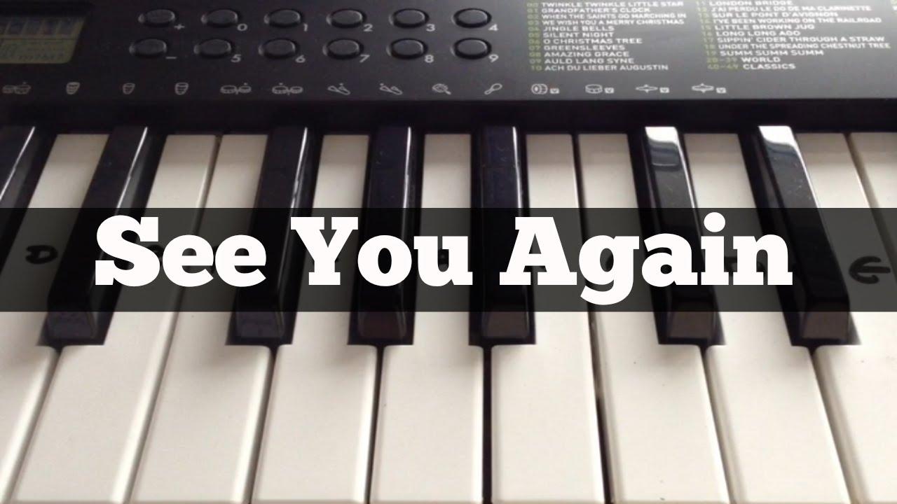 See You Again - Wiz Khalifa ft Charlie Puth | Easy Keyboard ...