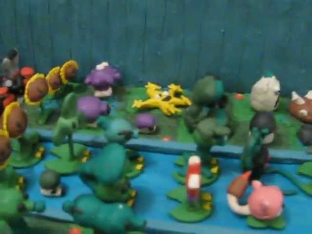 Plantas Vs Zombies de Plastilina Travel Video