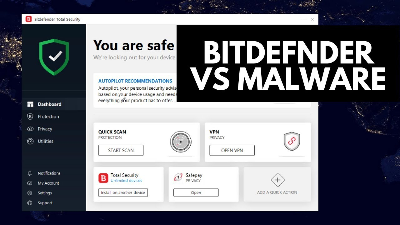 Bitdefender Total Security 2020 Review.Bitdefender Total Security 2019 Review Tested Vs Malware