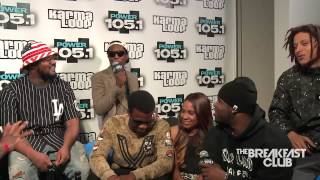 TDE & A$AP Mob Interview With The Breakfast Club!