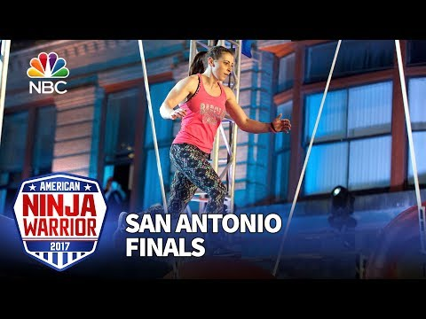 Barclay Stockett at the San Antonio Finals - American Ninja Warrior 2017