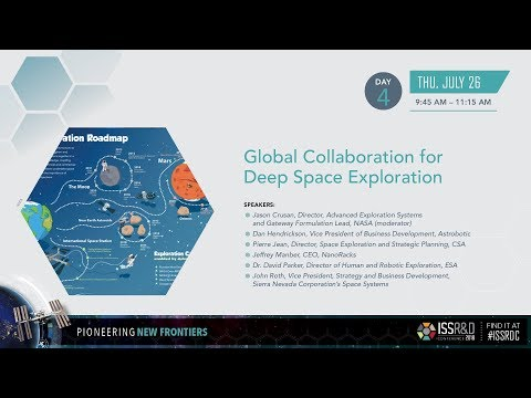 ISSRDC 2018: Global Collaboration for Deep Space Exploration