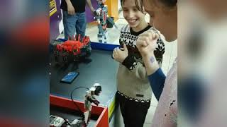 Выставка роботов Алтын Тараз