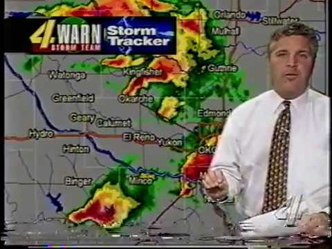 May 3, 1999 Tornado KFOR Live Coverage - YouTube