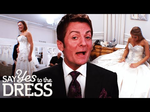 Randy's tips for finding the perfect wedding dress | Say Yes To The Dress: Randy Knows Best. http://bit.ly/2JHxj9e
