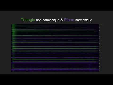 Du choix du triangle en contexte harmonique