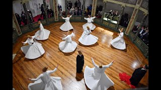 Sema at the Galata Mevlevihane 10 Dec 2019 Ecstatic Whirling Dervish