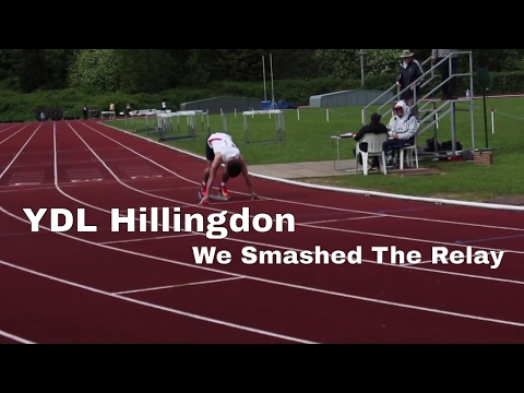 WE SMASHED THE RELAY  YDL HILLINGDON