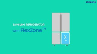 Samsung Twin Cooling Plus™ : What is FlexZone™