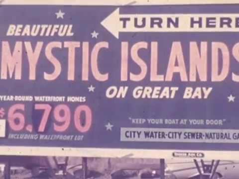 Mystic Islands, NJ Promotional Film (early 1960's).
