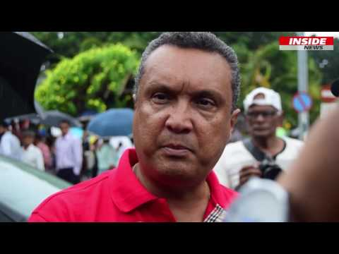 Manifestation du PTR à Port-Louis