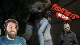 Scariest Multiplayer Game Ever?   FRIDAY THE 13th: THE GAME [#01]