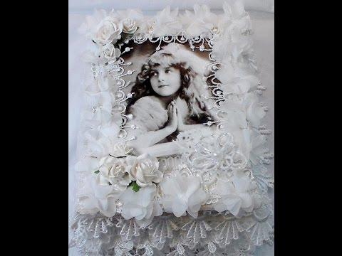 Guest Designer Project - Fabric Lace Book - Carla