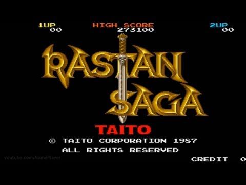 Rastan Saga 1987 Taito Mame Retro Arcade Games
